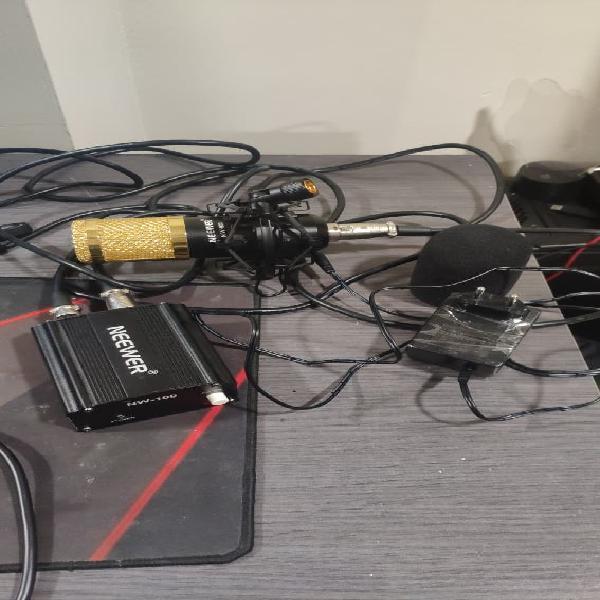 Micrófono condensador neewer nw-800