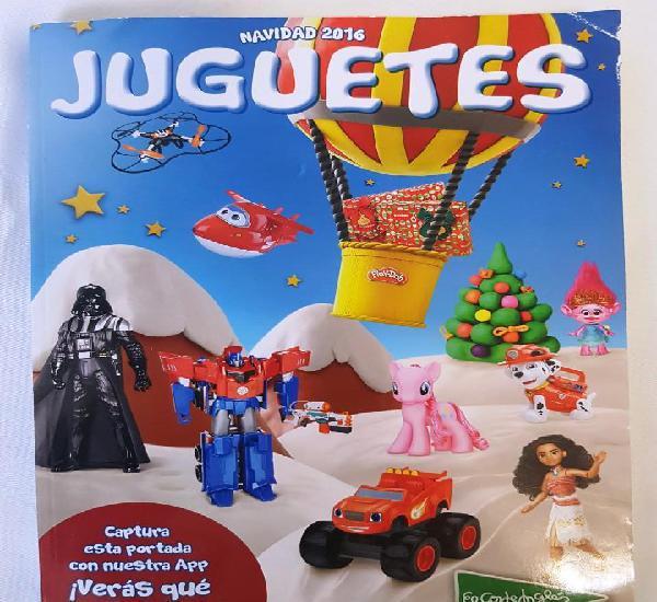 Navidad 2016 - el corte inglés - catálogo de juguetes.