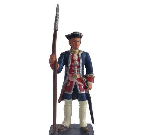 Oficial de la guardia de walona 1717 alymer figura plomo #01