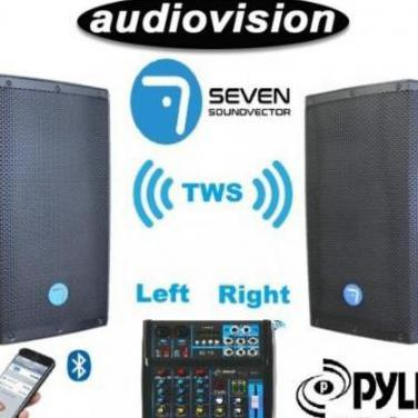 Pack dj seven* + pyle pro* bt tws vinculado cl...