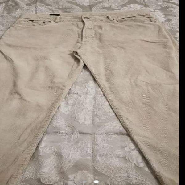 Pantalón hombre talla 44 pana beig poco uso.