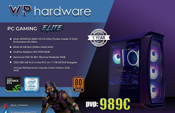 Pc gaming intel xeon elite (producto nuevo)