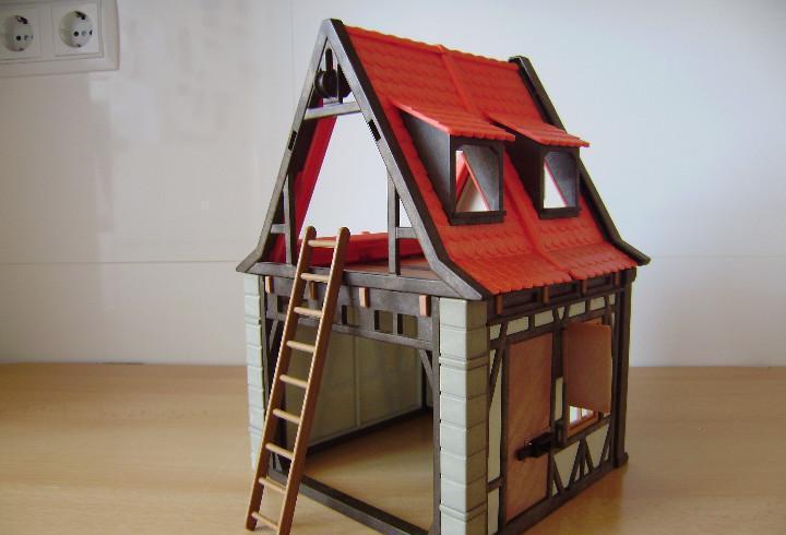 Playmobil casa medieval