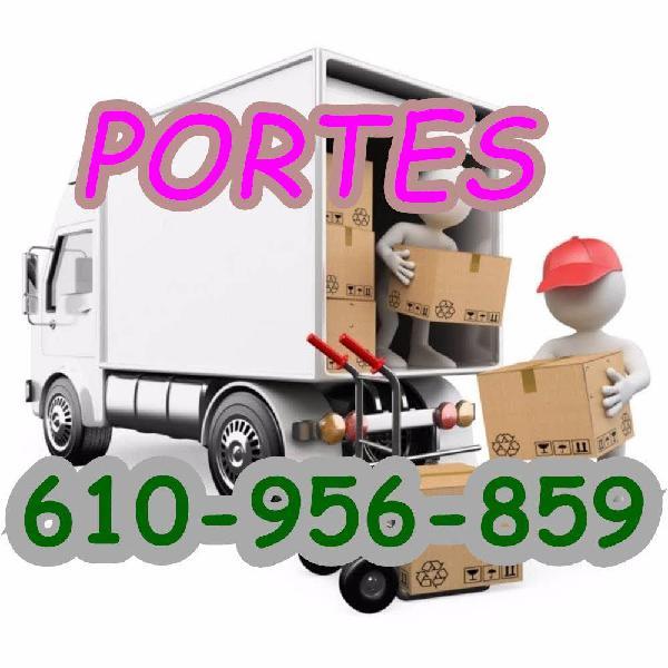 Portes, mudanzas y transportes baratos 24/0