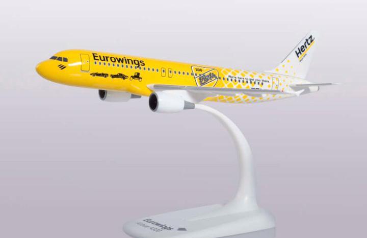 "Precioso avión airbus a320 eurowings ""hertz"" herpa"