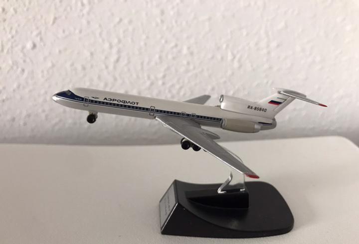 Precioso avión tupolev aeroflot 1:460