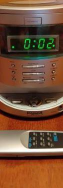 Radio despertador con cd daewoo (minicadena)
