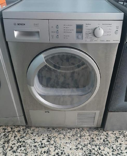 Secadora bosch 8kg gris