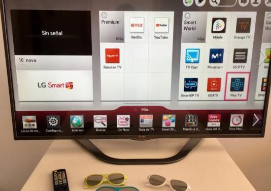 Tv lg 47 smart tv 3d