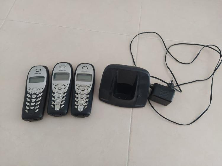 Teléfonos inalambricos con base