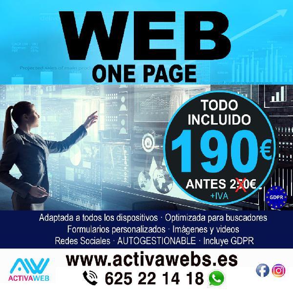 Web autogestionable