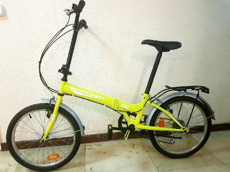 Bici plegable nueva a estrenar