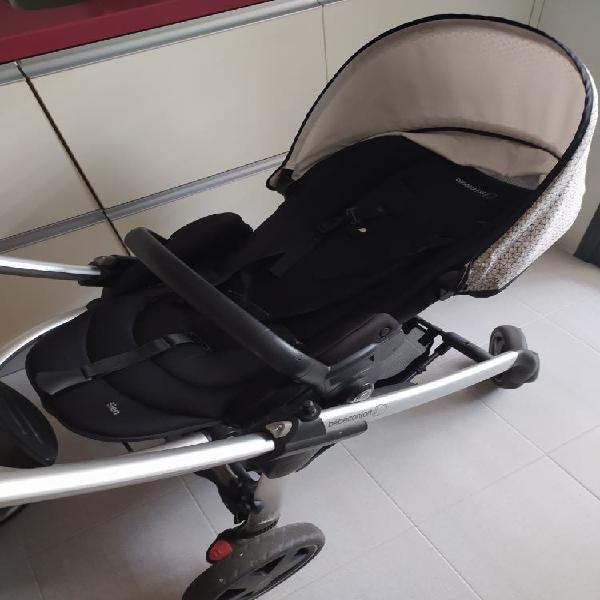 Carro de bebé, 3 piezas