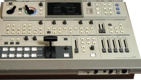 Mezclador de vídeo panasonic mx-50