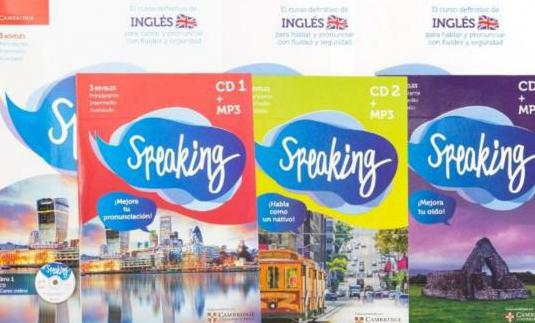 Curso de inglés (speaking, acreditado por camb...