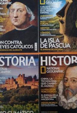 Revistas national geographic historia