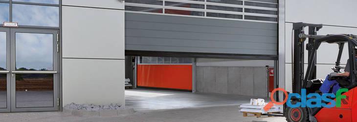 Puertas industriales para el sector logístico 1