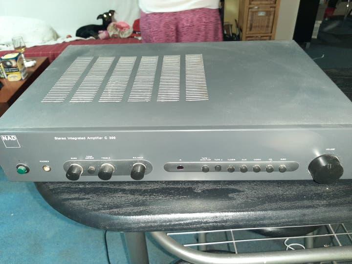 Amplificador vintage de gama alta