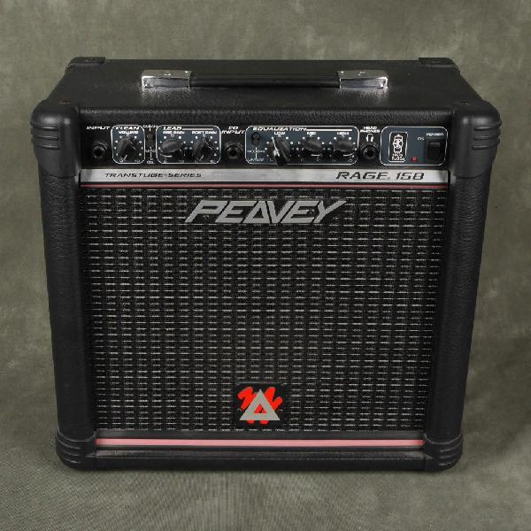 Amplificador de guitarra peavey rage transtube 158