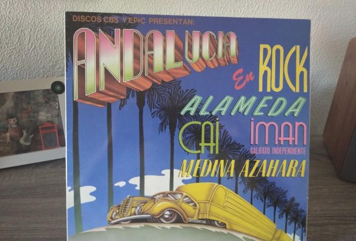 Andalucía en rock,cbs españa 1980,firma a bolígrafo,ver