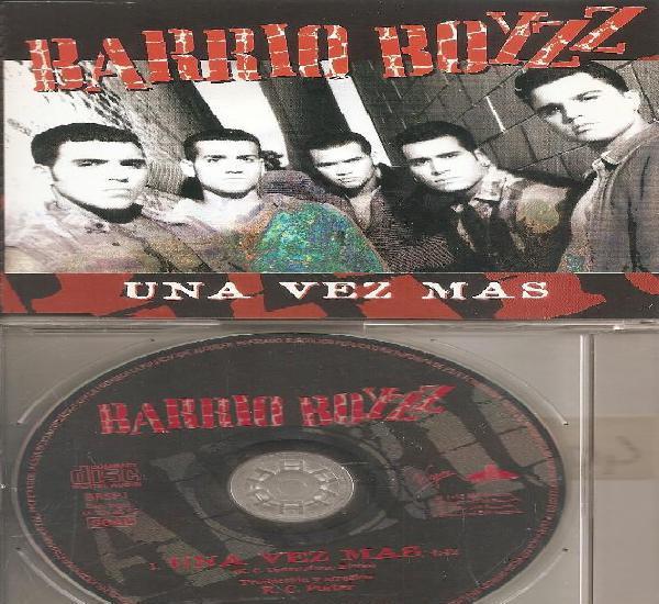 Barrio boyzz - una vez mas(cdsingle caja promo, virgin 1995)