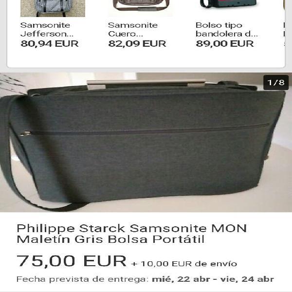 Bolsa portadocumentos nueva marca samsonite starck