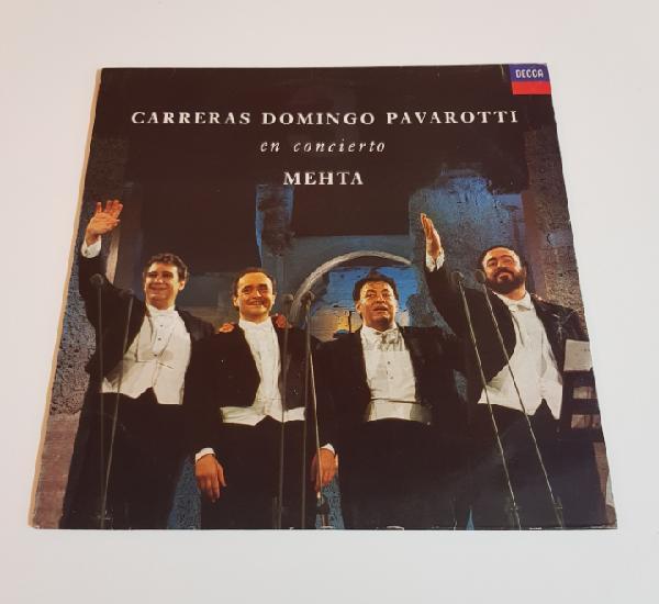 Carreras domingo pavarotti en concierto - mehta