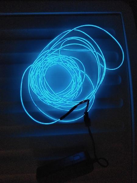Cable neón led 5m azul