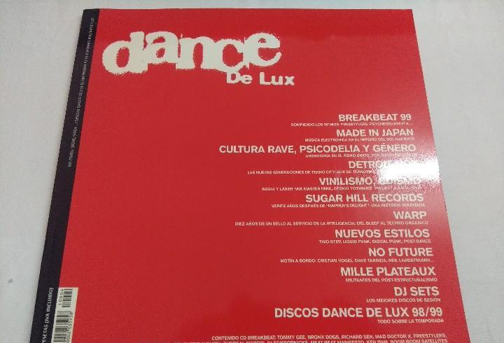 Dance de lux/breakbeat 99/incluye cd.