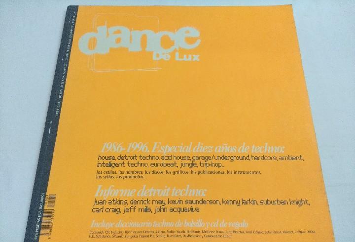 Dance de lux/especial 10 años de techno 1986-1996/incluye