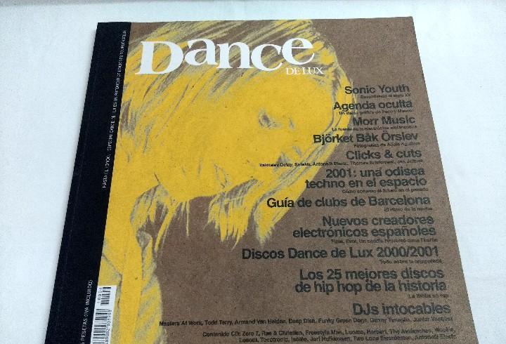 Dance de lux/hasta el fondo-sonic younth/incluye cd.