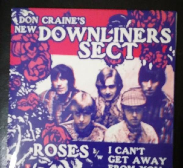 Don craine's new downliners sect - roses - single vinilo -