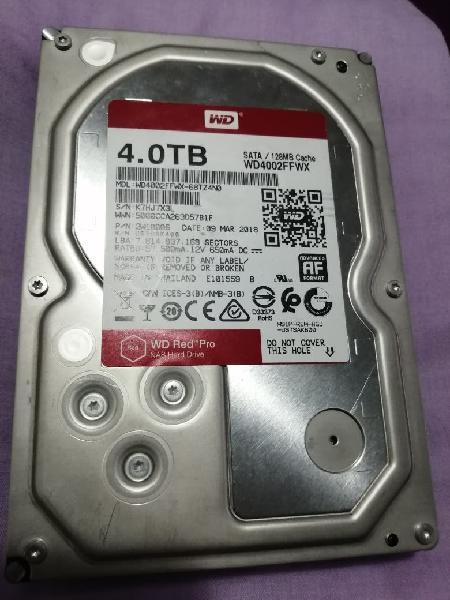 Disco duro western digital 4 tb 128mb cache 6 gb/s