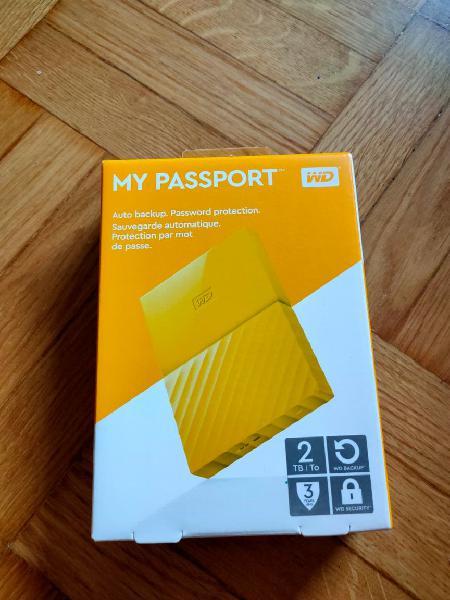 Disco duro 2 tb - western digital my passport
