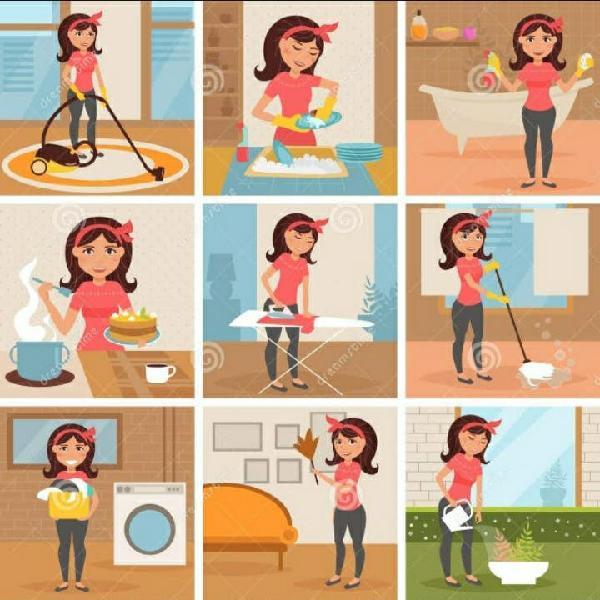 Empleada de hogar y niñera
