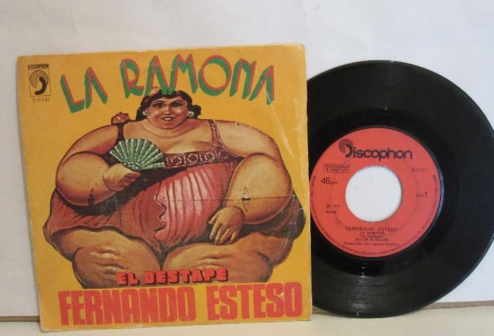 Fernando esteso - la ramona / el destape - single - 1976 -
