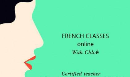 Frances e ingles online con profe certificada