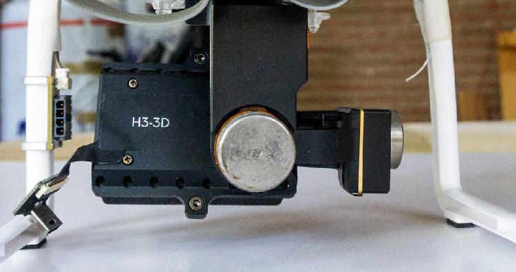 Gimbal zenmuse h3 3d