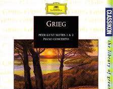 Grieg peer gynt. suites #1 & 2. piano concerto. géza anda.