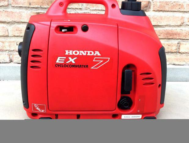 Honda ex7 generador eléctrico inverter 700w