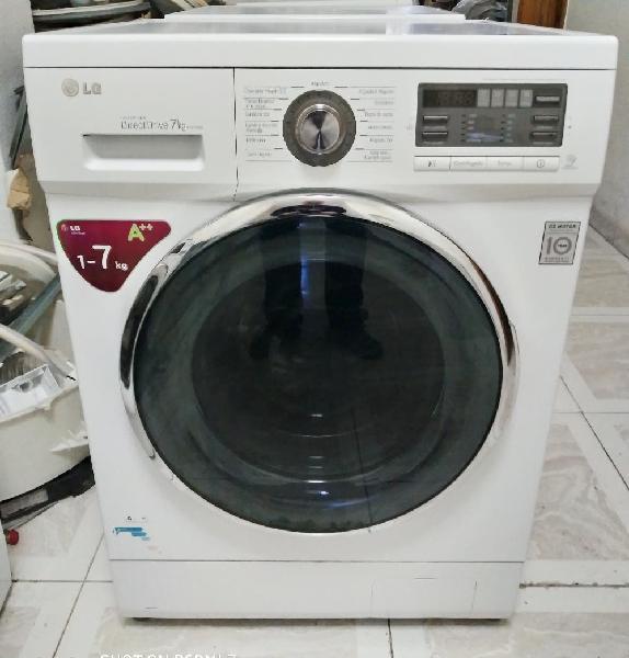 Lavadora lg 7kg 1200 rpm silenciosa