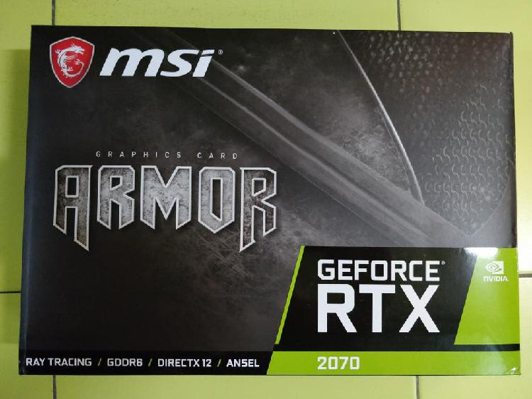 Msi armor geforce rtx 2070 8gb