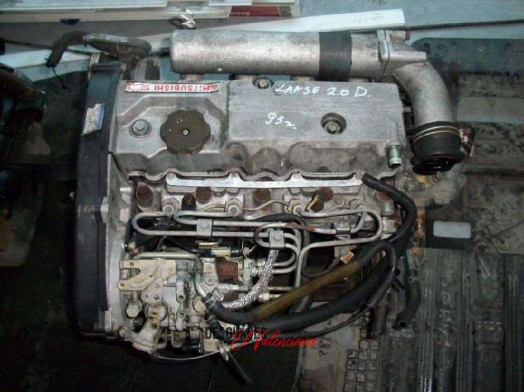 Motor mitsubishi lancer galant space wagon 2.0 d