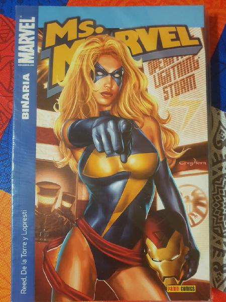Ms. Marvel, Capitana Marvel. Carol Danvers