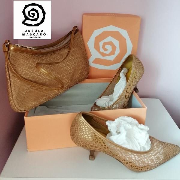 Oferta!de 350€ a 59€ t.37 conjunto zapatos bolso