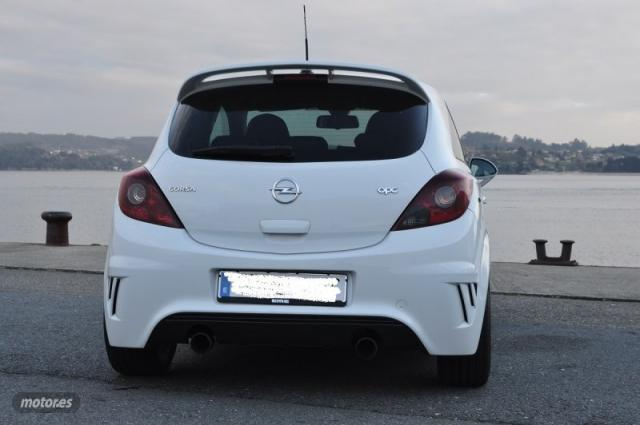 Opel corsa opc nürburgring edition de 2012 con 101.700 km