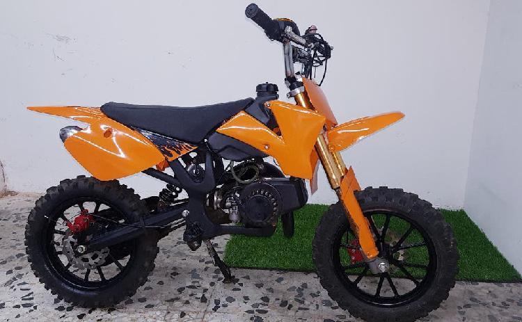Pit bike mini moto cross infantil 49cc