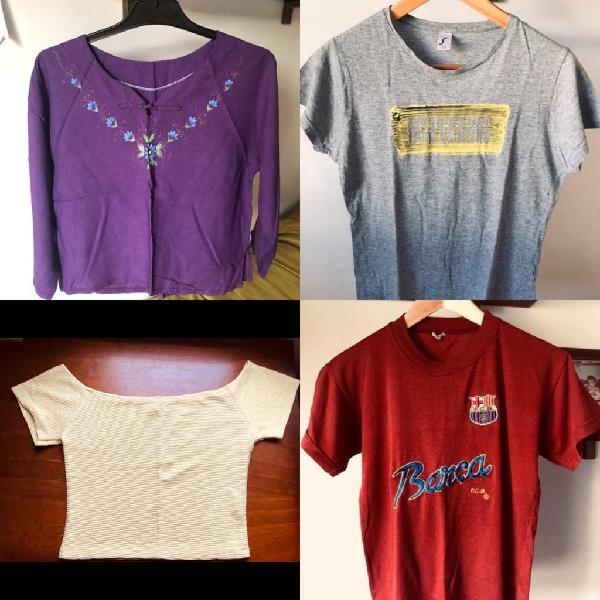 Pack 4 camisetas