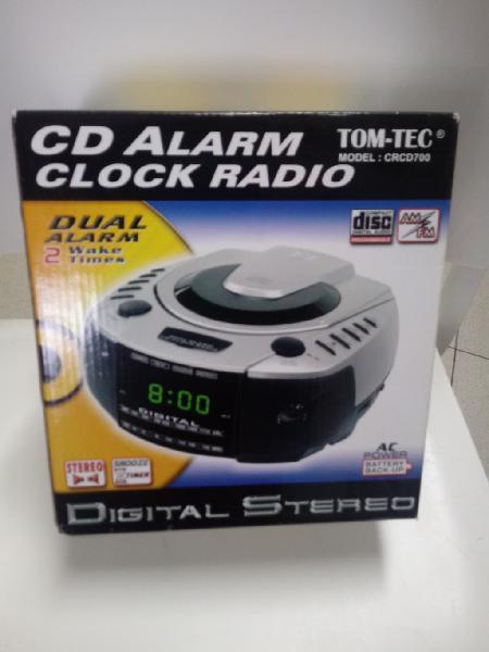 Radio cd despertador