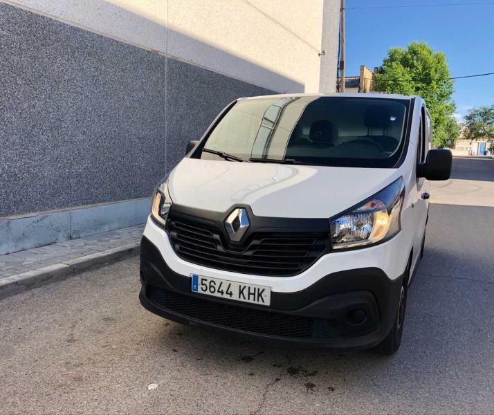 Renault trafic 2018 diesel 120cv